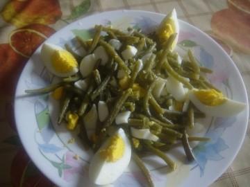 Fagiolini in insalata con uova sode cucinare for Cucinare uova sode